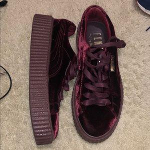 Flat form Fenty sneaker